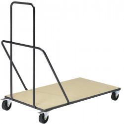 Chariot pour table pliante rectangle, 2tailles disponibles
