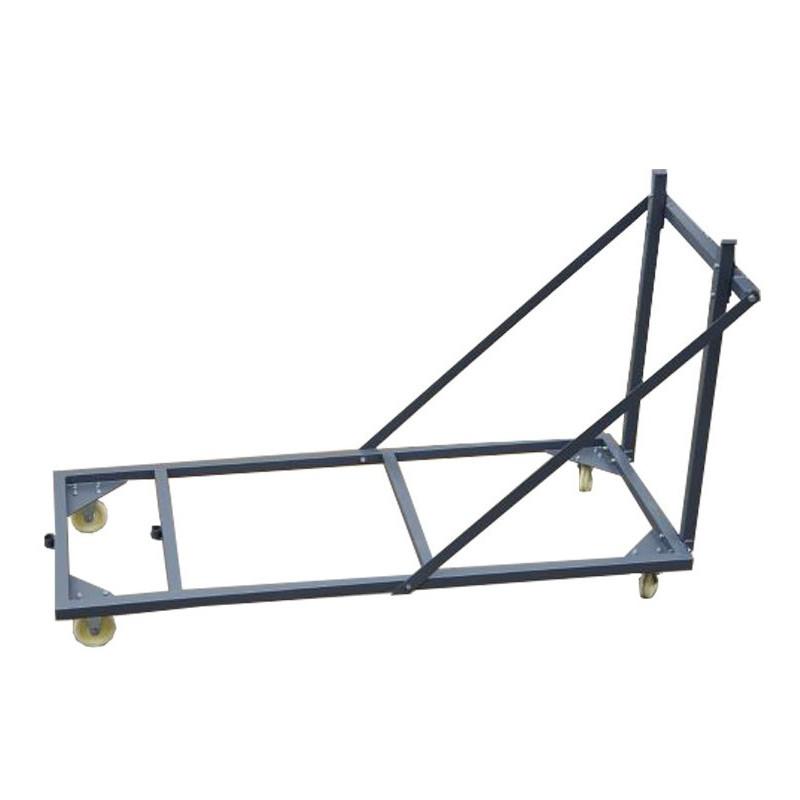 Visuel du chariot pour tables polypropylène rectangulaires
