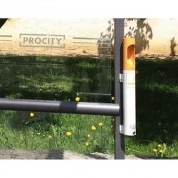 Cendrier ingénieux à poser sur vos poteaux de ville