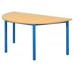 TABLE NOA DEMI-LUNE 4 PIEDS 120 X 60 CM