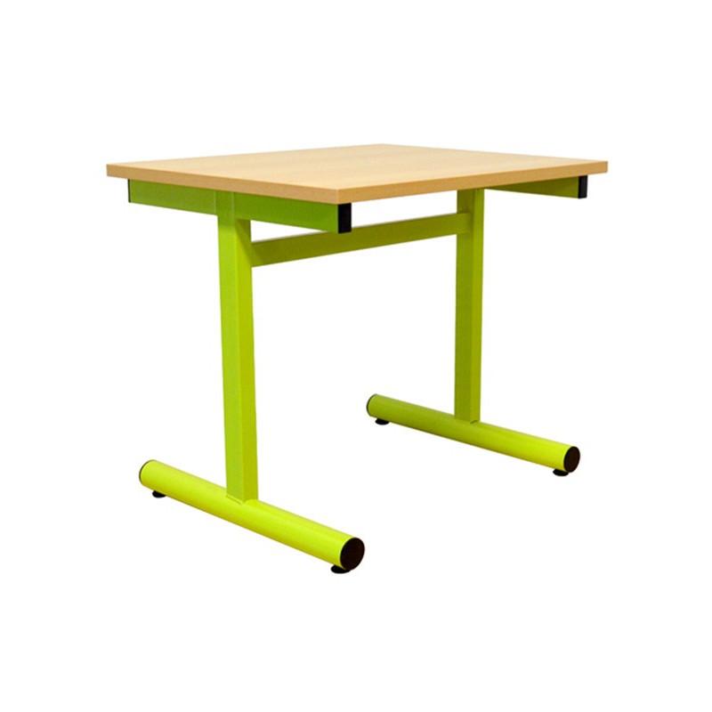 Table/bureau pour crèche et école maternelle. Déclinaisons de couleurs et de tailles