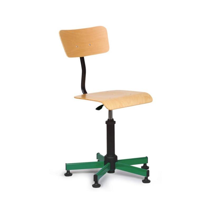 Chaise de bureau pivotante et réglable hauteur et dossier