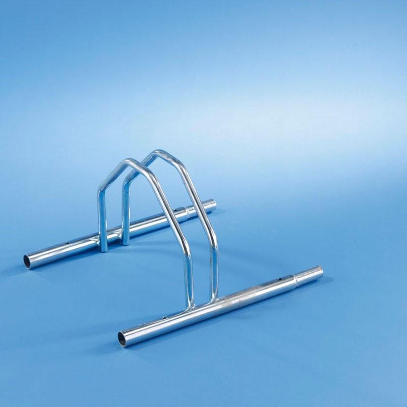 Module râtelier en acier emboîtable pour 1 vélo, râtelier évolutif