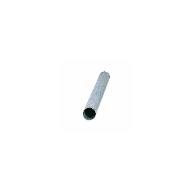 Poteau en acier galvanisé forme cylindrique