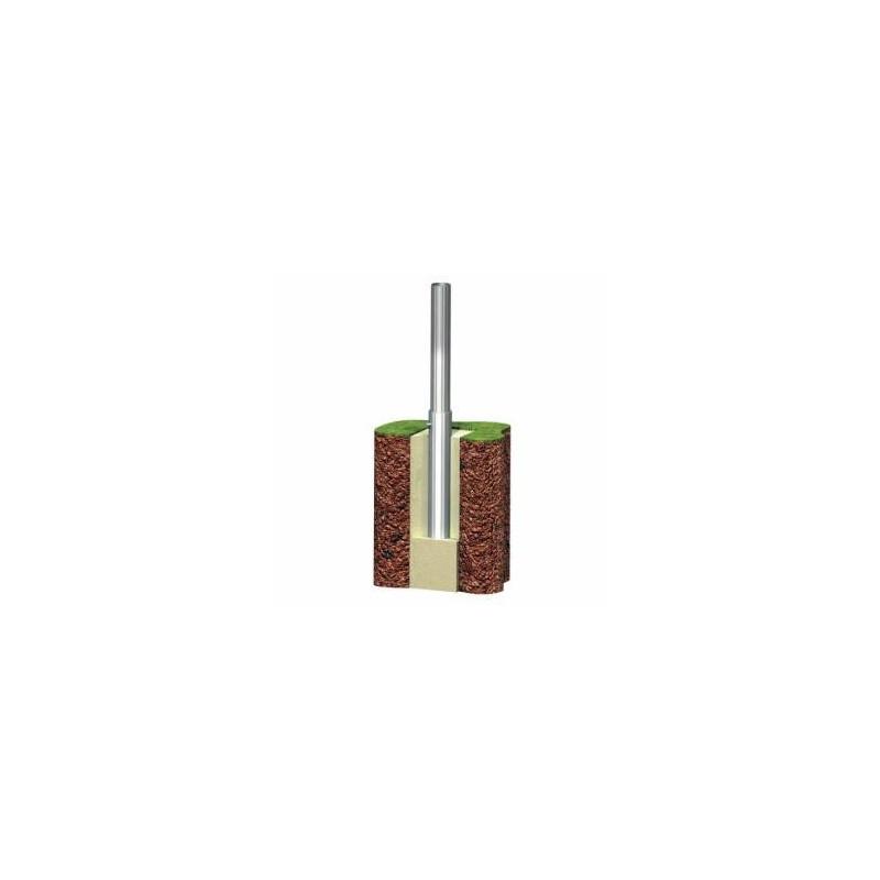 Un fourreau en acier pour vos supports de forme cylindrique