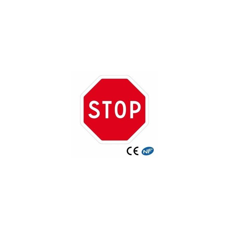 Panneau de circulation STOP en 5 dimensions (Ab4)