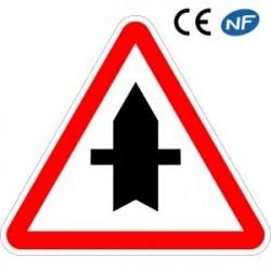 Panneau routier depriorité ponctuelle (AB2)
