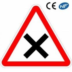 Panneau de circulation depriorité à droite (AB1)