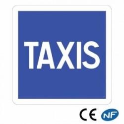 Panneau de signalisation positionnant une station de taxis - C5