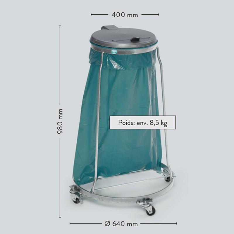 Une structure très résistante pour sac poubelle 120 Litres