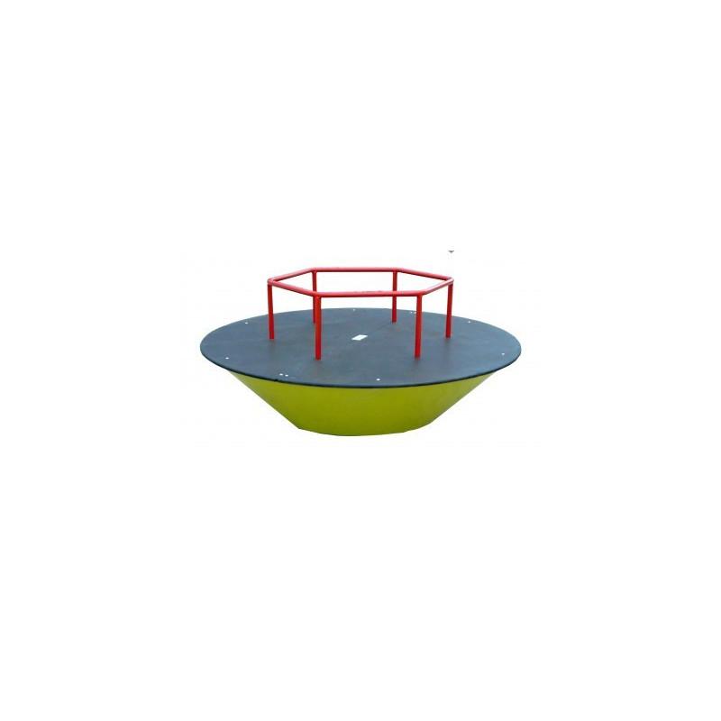 Manège tourniquet de 1.70 m pour enfants de 3 à 8 ans