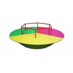 Manège tourniquet 3 couleurs pour les enfants de 3 à 10 ans