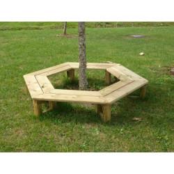 Banc en bois circulaire de fabrication française pour enfants