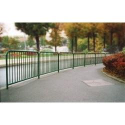 Visuel de la barrière de ville à barreaux
