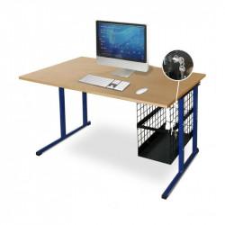 Un bureau scolaire avec option informatique pour optimiser les salles de cours