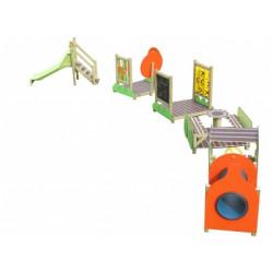 Jeux de grimpe en bois PAGO PAGO GLISSIERE pour les 3-12 ans