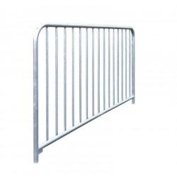 Barrière en acier galvanisé (15 barreaux)