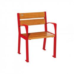 Chaise extérieure Silaos - 5 lames