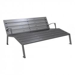 Chaise longue 3 places Silaos