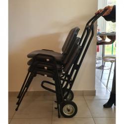 Diable de transport PRATIC'DIABLE pour chaises