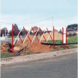 Barrière de chantier extensible
