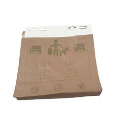Carton de 20 liasses de 50 sacs en papier biodégradable pour déjection canine