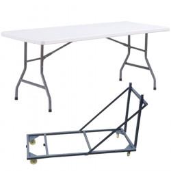 Table pliante plastique polypropylène DMC Direct