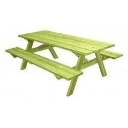Table de pique-nique en bois Munich