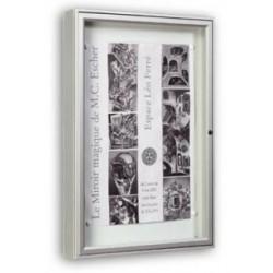 Visuel de la vitrine d'affichage extérieure 1000