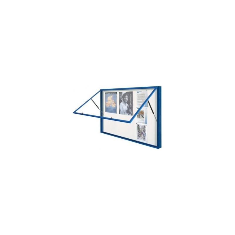 Vitrine d'affichage avec porte levante