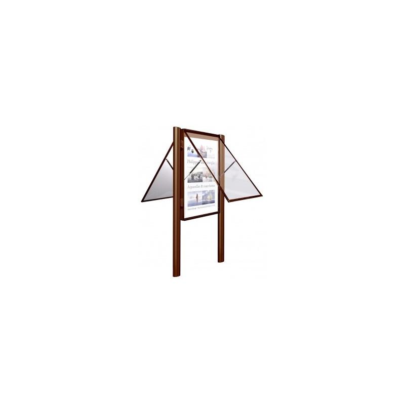 Visuel de la vitrine d'affichage extérieure 2000