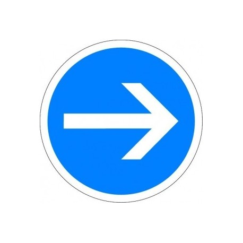 Visuel des panneaux de signalisation d'obligation