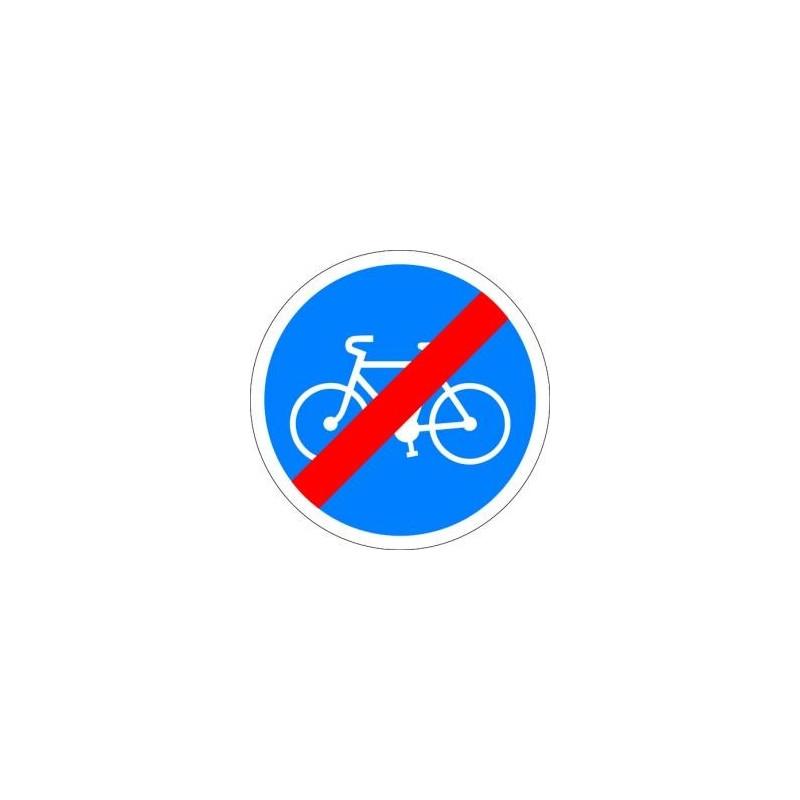 Visuel des panneaux de signalisation de fin d'obligation