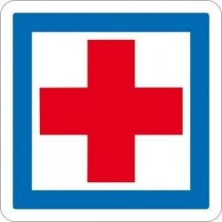 Visuel du panneau de signalisation d'indication des services