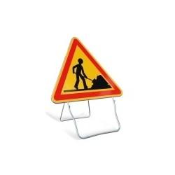 Visuel du panneau de signalisation temporaire