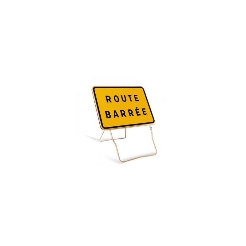 panneau routier d 39 indication temporaire panneau routier d 39 indication route barr e. Black Bedroom Furniture Sets. Home Design Ideas
