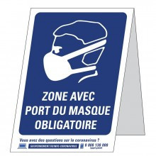 Signalétique de distanciation