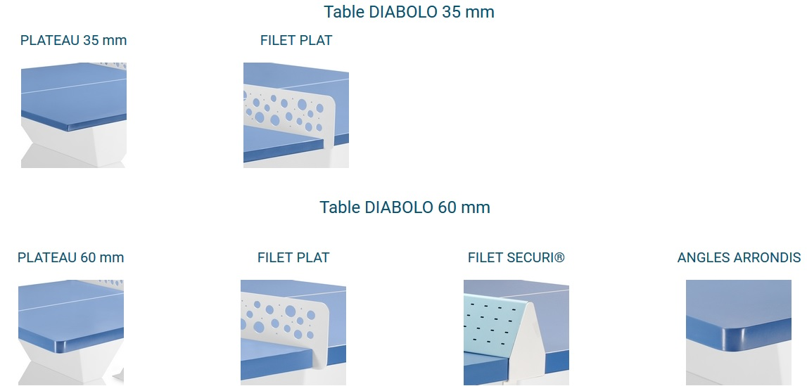 modèle table ping pong venus DMC