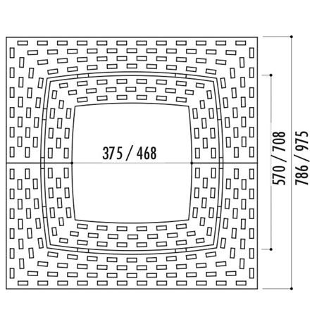 Dimensions de la grille Estadi