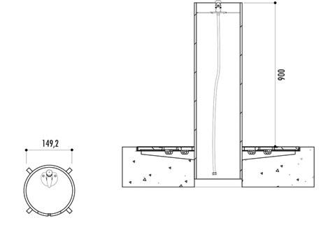 Dimensions de la fontaine Olimpica