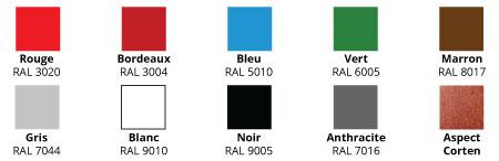 Corbeille Lototen et ses 10 coloris disponibles