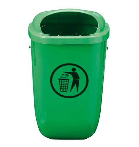 corbeille-classic-cinquante-litres-verte
