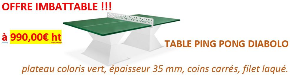 offre promo table diabolo DMC