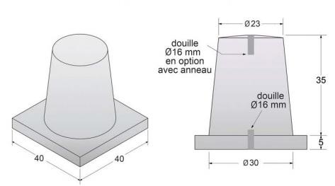 borne béton serena - DMC