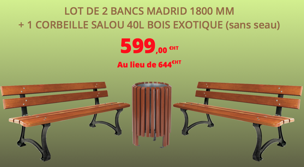 banc madrid en promotion dmc direct
